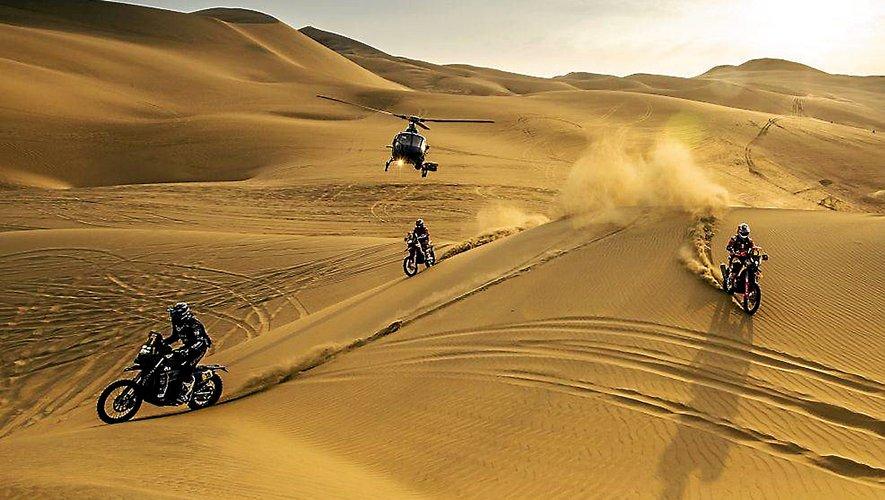 Les trois motards aveyronnais du Dakar vont devoir déjouer les nombreux pièges de cette édition 2020 qui s'annonce particulièrement technique.