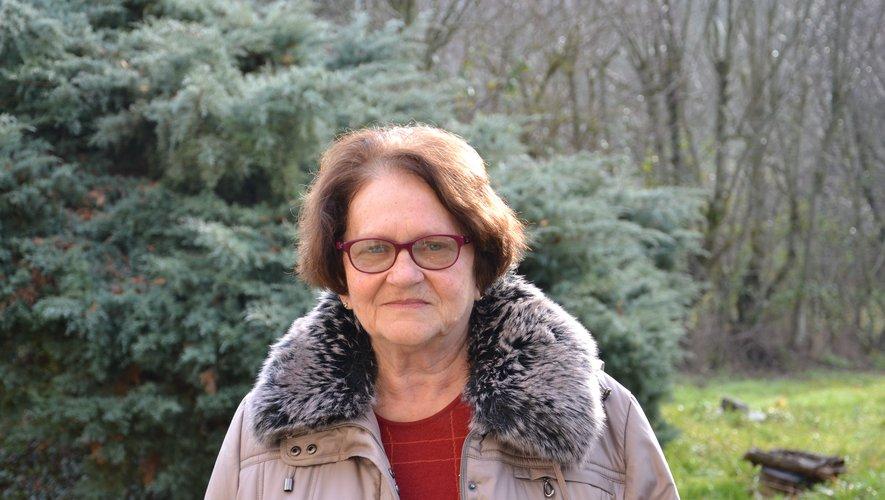 Fernande Singer, 74 ans, est maire d'Arnac-sur-Dourdou depuis 2014.