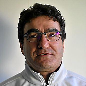 Patrick Martinez, président du club Tennis de table Espalion.
