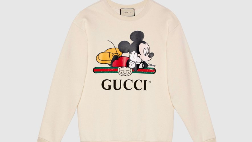 Sweatshirt oversize Disney x Gucci