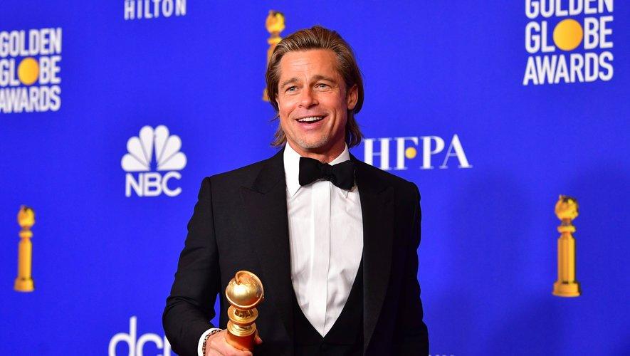 "Brad Pitt a remporté le Golden Globe pour son second rôle dans ""Once Upon a Time... in Hollywood"" de Tarantino"