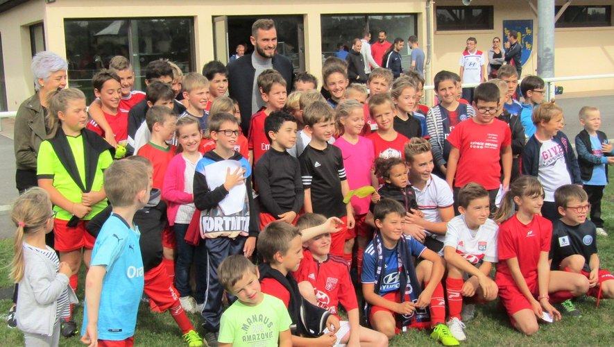 L'école de football a été boostée par la venue de Lucas Tousart.