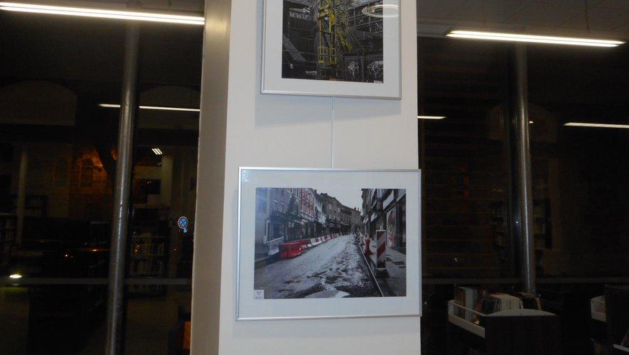 Retrouver les travaux de la rue Cayrade en images