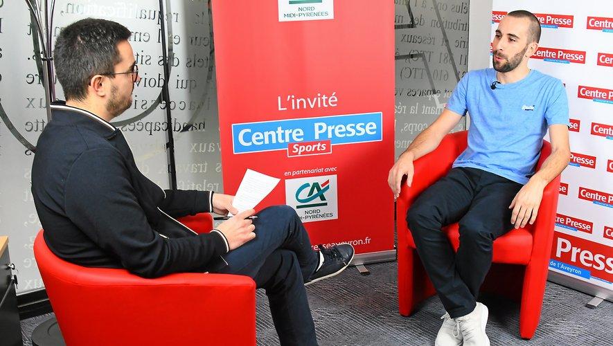 Nicolas Flottes, L'invité des Sports de Centre Presse.
