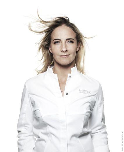 La cheffe Amandine Chaignot cuisinera pour le Dîner de la mode de Sidaction