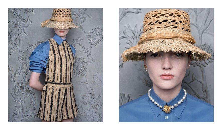 Ruth Bell prête ses traits à la campagne printemps-été 2020 de Dior.