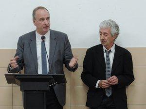 Vivian Couderc et Michel Soulié.