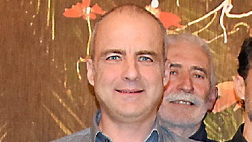 William Fraysse, porte-parole du groupe d'écologistes ruthénois souhaitant peser dans la campagne… aux côtés de Christian Teyssèdre.