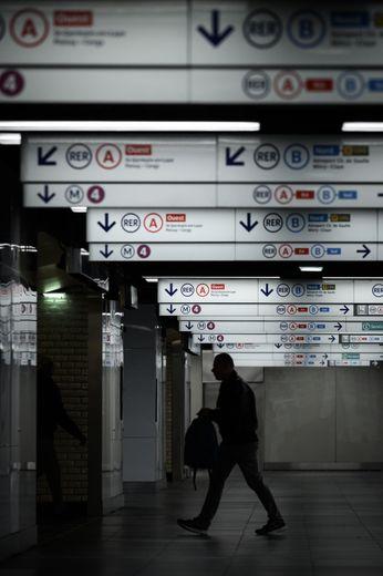 A la RATP, aucune ligne de métro ne sera totalement fermée, selon les prévisions de la régie.