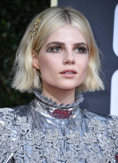 L'actrice Lucy Boynton