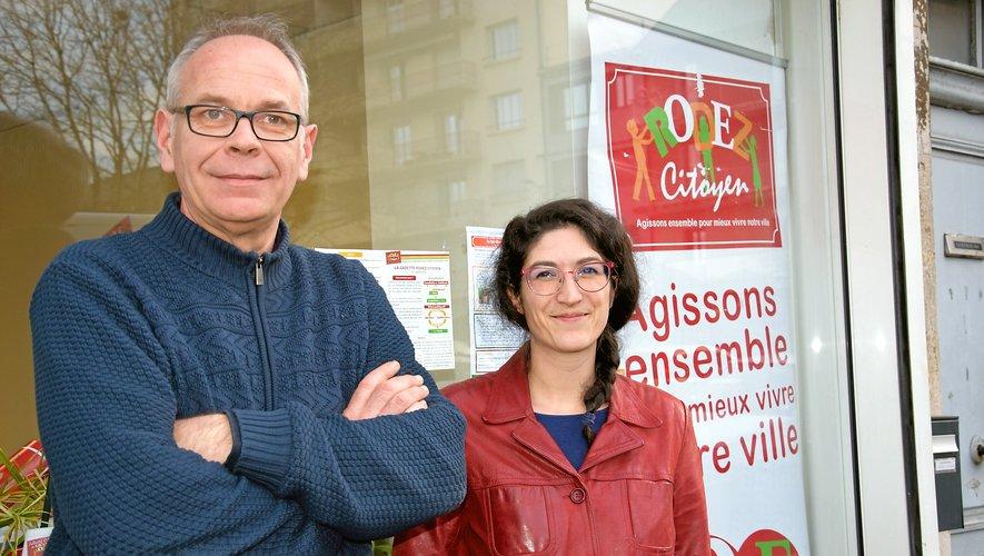 Matthieu Lebrun  et Marion Berardi.