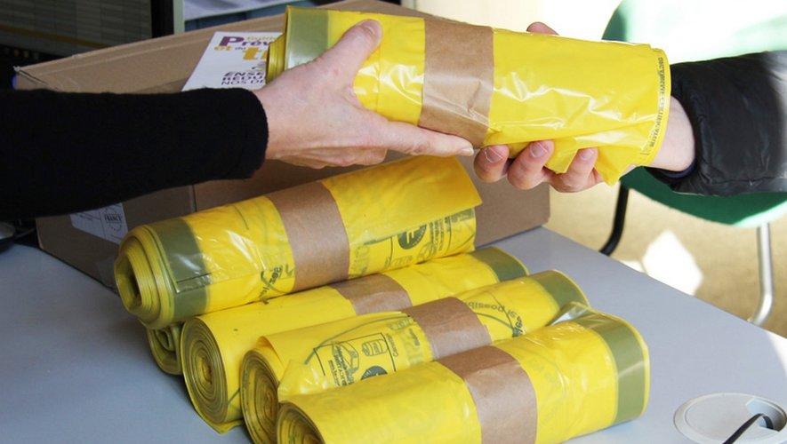 Distribution de sacs-poubelles : permanences