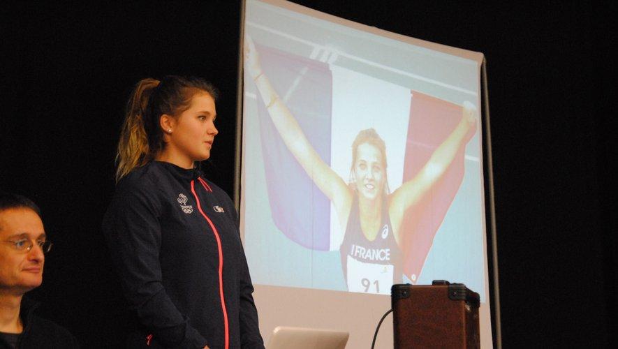 Jöna Aigouy entretient le rêve de participer aux Jeux olympiques.