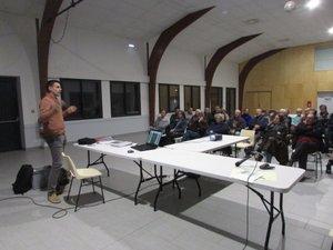 Les habitants ont été invitésà participer à une réunion expliquant les travaux du « CD en traverse ».