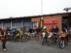 Le Moto club Lévezou solidaire du Téléthon