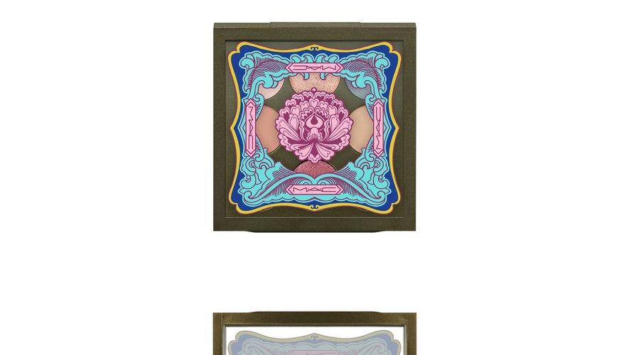 La palette d'ombres à paupières issue de la collection Lunar Illusions de M.A.C Cosmetics.