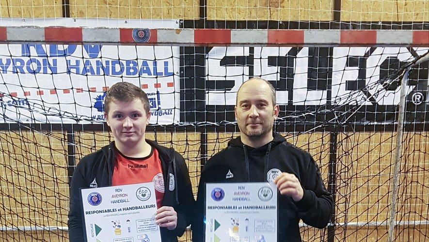 Axel Demortier (à gauche) et Alex Granier porteurs d'un projet vertueux.