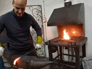 Le ferronnier d'art, Djanni Duval