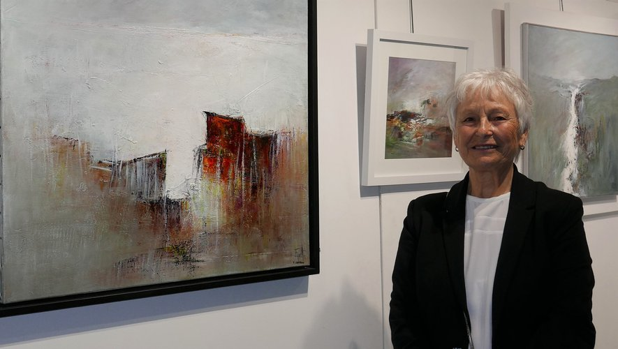 L'artiste Lyna Ensuque présente ses œuvres picturales jusqu'au vendredi 7 février et les dimanches, de 14 h 30 à 18 heures.
