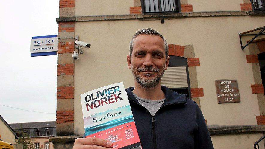 Olivier Norek revient régulièrement dans le Bassin pour y puiser son inspiration.
