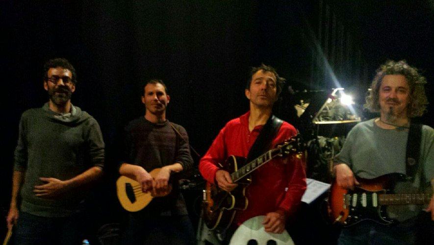 Samedi 11, hier donc, concert de sortie d'album de Didier Rouillon et sa bande, alias Ston, au Club de Rodez.