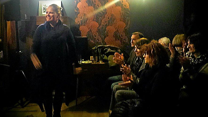 Dimanche 5 janvier, concert de sortie de l'album de Milja Kaunisto alias Mortimer Keefe à la Fabrique du Rougier de Villecomtal.