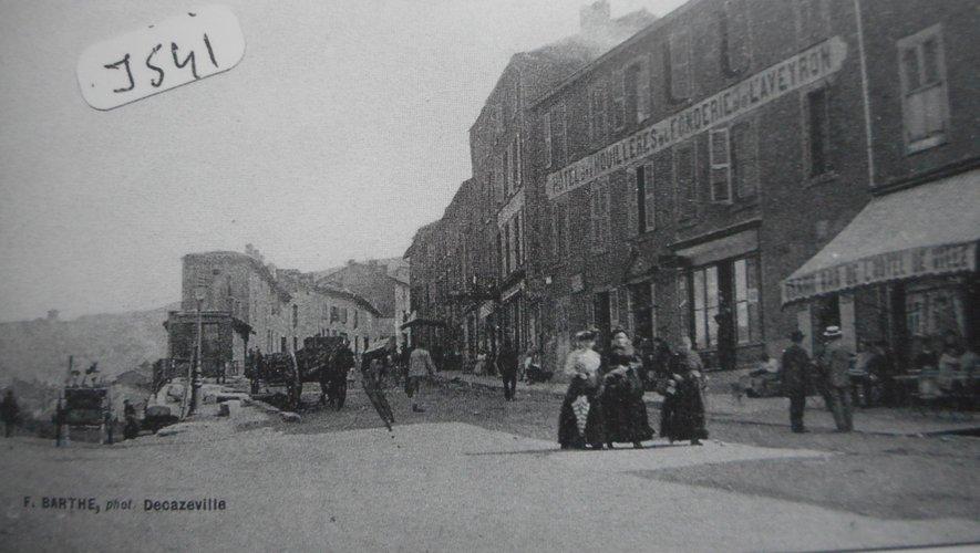 Le départ de la rue Lassalle, début XXe siècle, collection Aspibd
