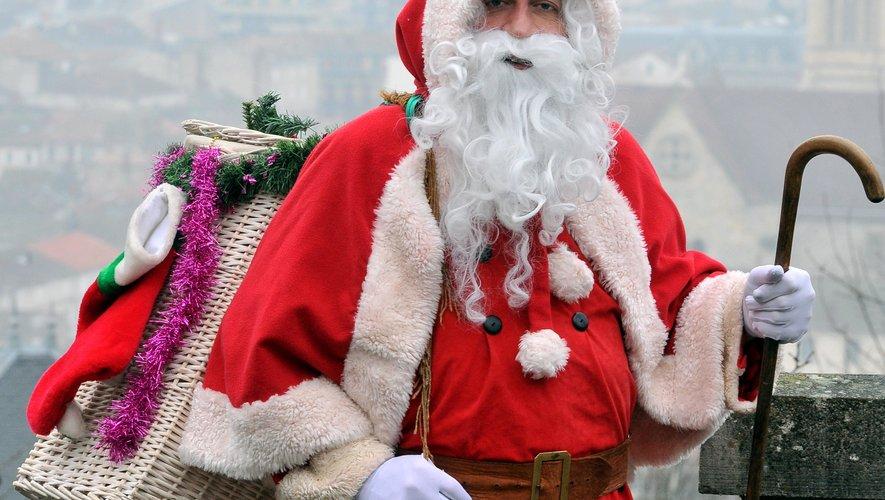 Beaucoup de cadeaux dans la hotte du père Noël./Photo archives