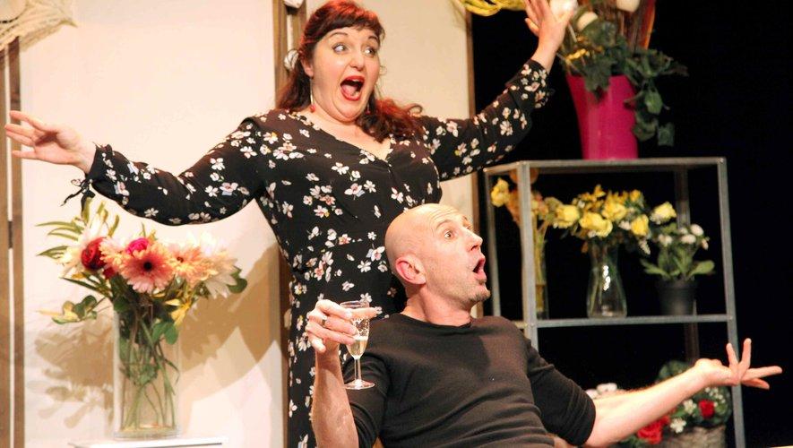 La pièce «Je préfère qu'on reste amis» interprétée par Grégoire Aubert et Stéphanie Fresse