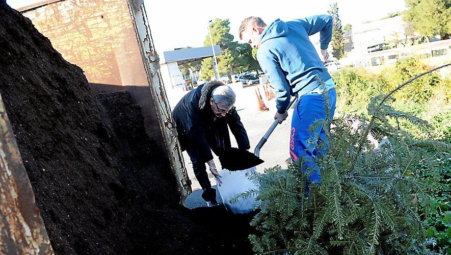 Après 16 ans d'existence, il n'y aura pas de compost cette année en échange du sapin !