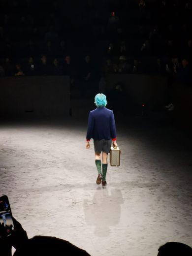 Le défilé de la maison Gucci pour la saison automne-hiver 2020-2021 à Milan.