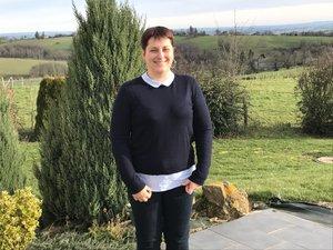 Corinne Ichard est une agricultrice installée au hameau de Soulieysset.