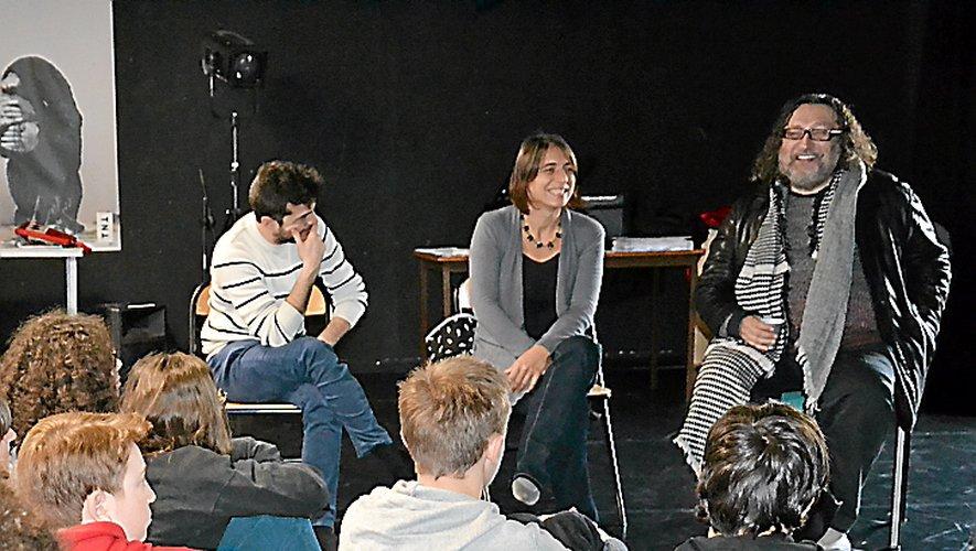 Les élèves ont posé de nombreuses questions à Eugène Durif.