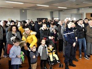 Une assemblée très  fournie s'est retrouvée à la salle des fêtes de Balsac..