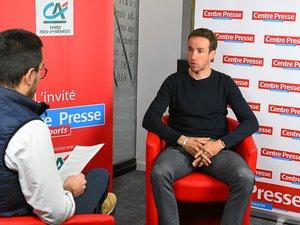 """Alexandre Geniez s'est assis cette semaine dans le fauteuil rouge de """"L'invité des Sports"""" de Centre Presse."""