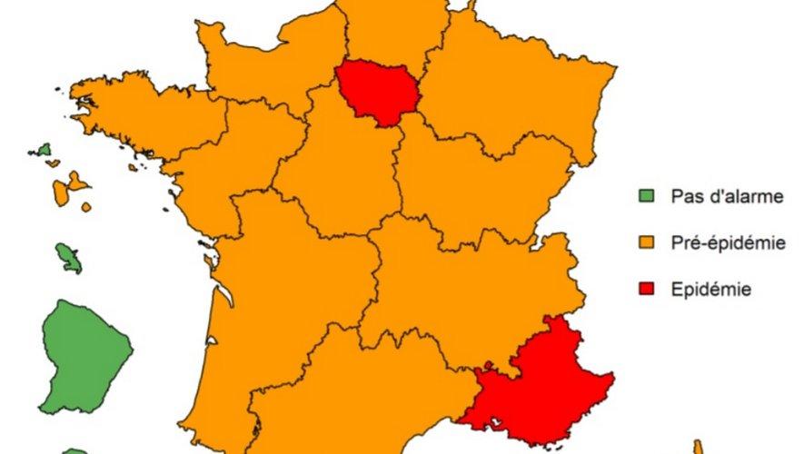 Grippe : l'épidémie démarre en Île-de-France et Provence-Alpes-Côte d'Azur