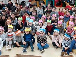Les élèves de l'école Saint-Jean ont fêté l'Epiphanie