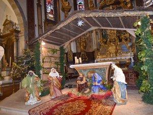 La crèche de l'église paroissiale