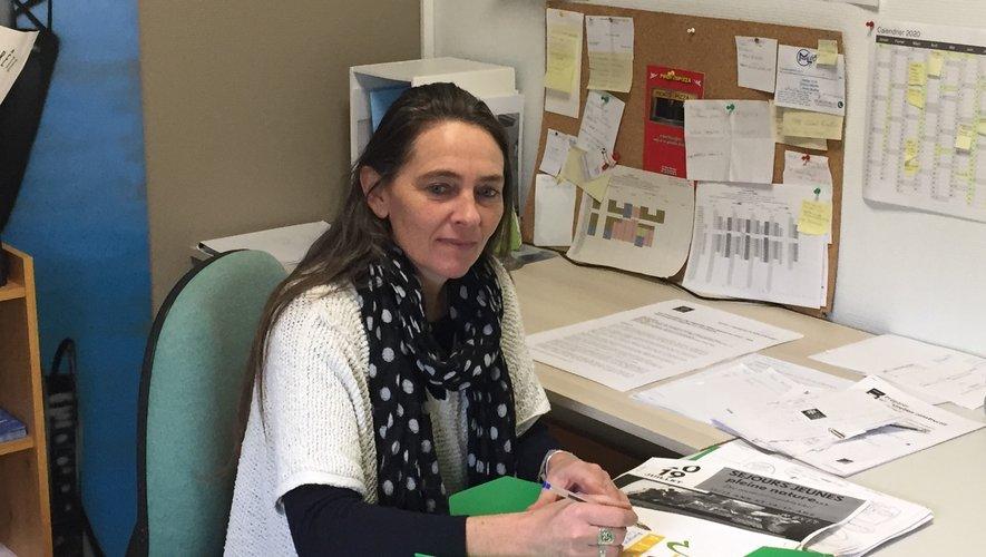Alexandra Lecima, la directrice de l'espace jeunes géré par Familles rurales.