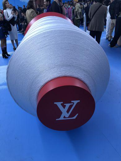 Le défilé Louis Vuitton automne-hiver 2020 pendant la semaine de la mode masculine à Paris.