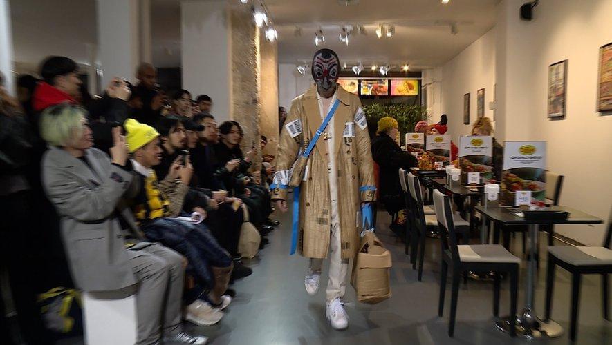 Le défilé Doublet automne 2020 pendant la semaine de la mode masculine à Paris.