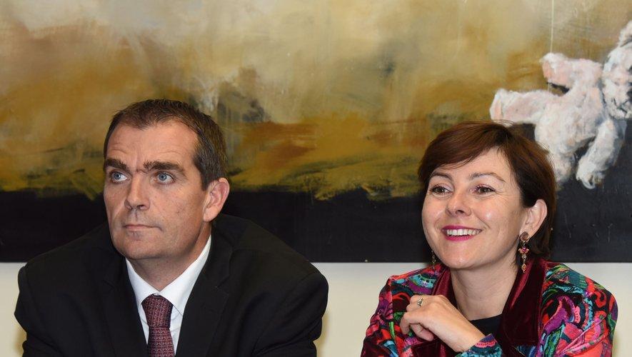 Carole Delga, présidente de la région Occitanie, sera aux côtés de Stéphane Bérard, pour sa visite en Aveyron.