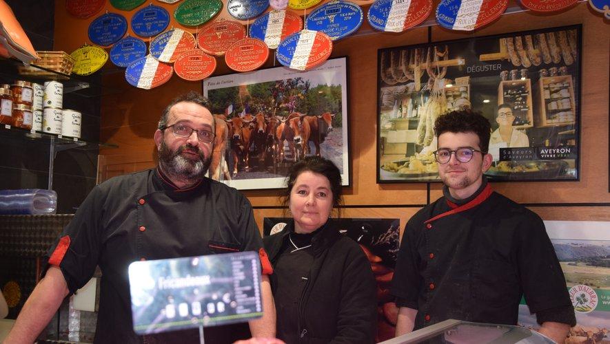 La famille Blanquet, maître ès tripou en Aveyron !