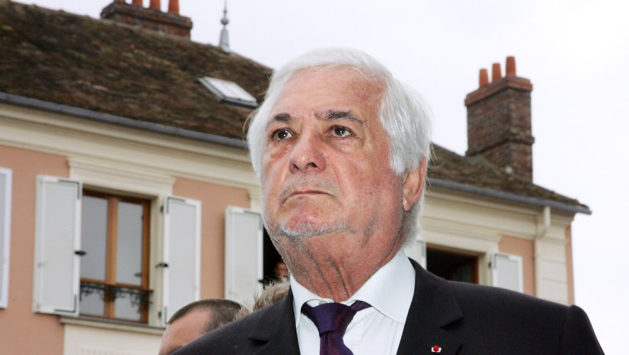 Le comédien Jean-Claude Brialy