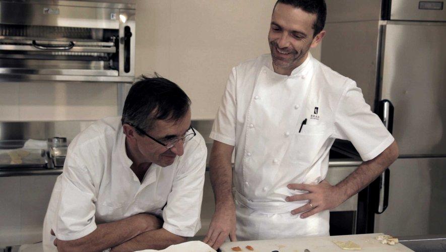 Entre les Bras : deux générations de chefs cuisiniers.