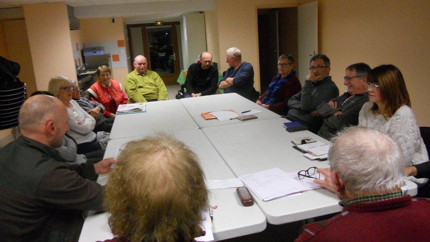 Les membres de l'association ont assisté à l'assemblée générale.