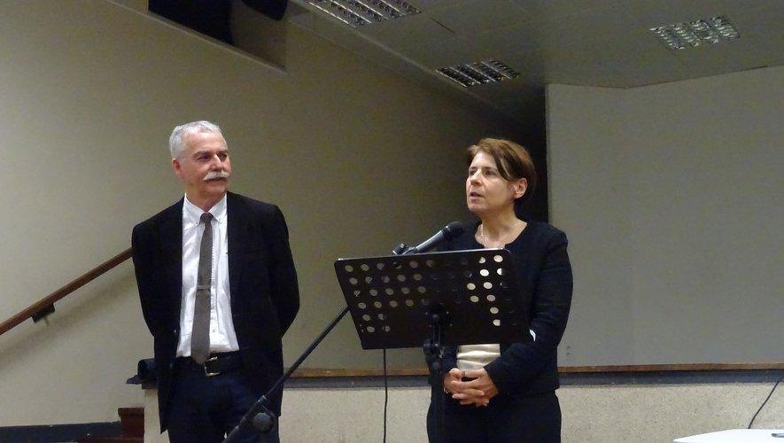 Vincent Alazard et Michèle Lugrand.