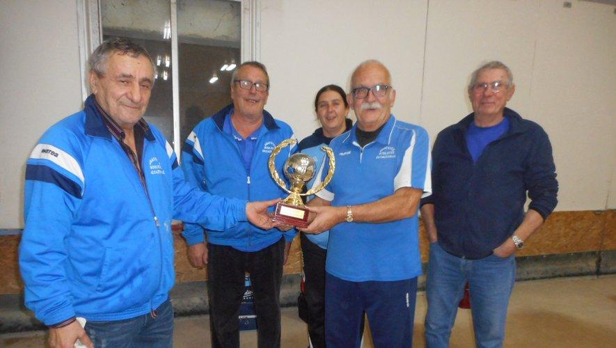 L'équipe Julien remporte le trophée François et Yvette Zarate