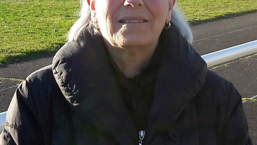 Marie-Thérèse Sanchez, une des figures de la vie publique aubinoise.