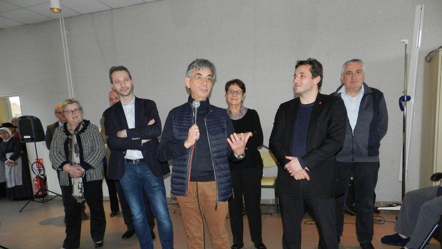 Serge Roques a présenté  ses vœux à Rulhe